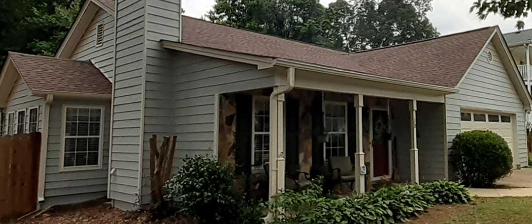 Alpharetta Georgia Painted House and Siding